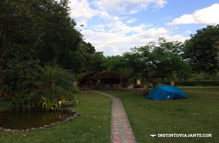 Aldeia do Bambu Camping ou camping do Thiago - o mais famoso e bem estruturado de Aldeia Velha-RJ.