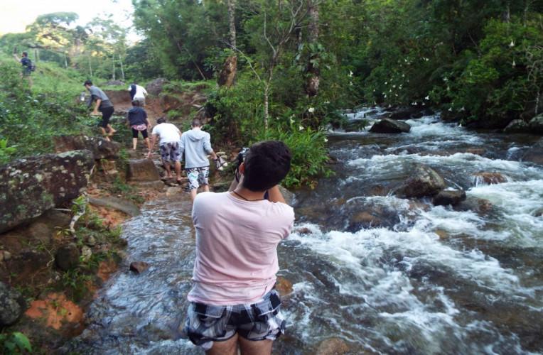 Encontro dos rios Sana e Macaé