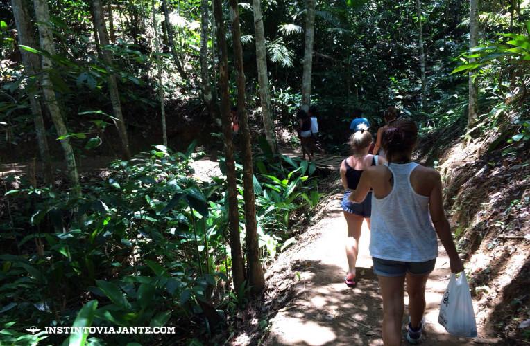 trilha das 4 praias de itacaré como chegar