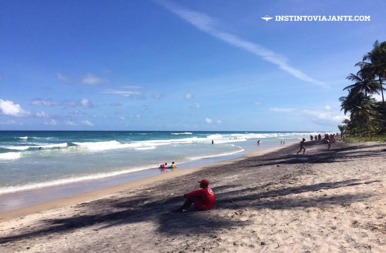 Praia de Itacarezinho.