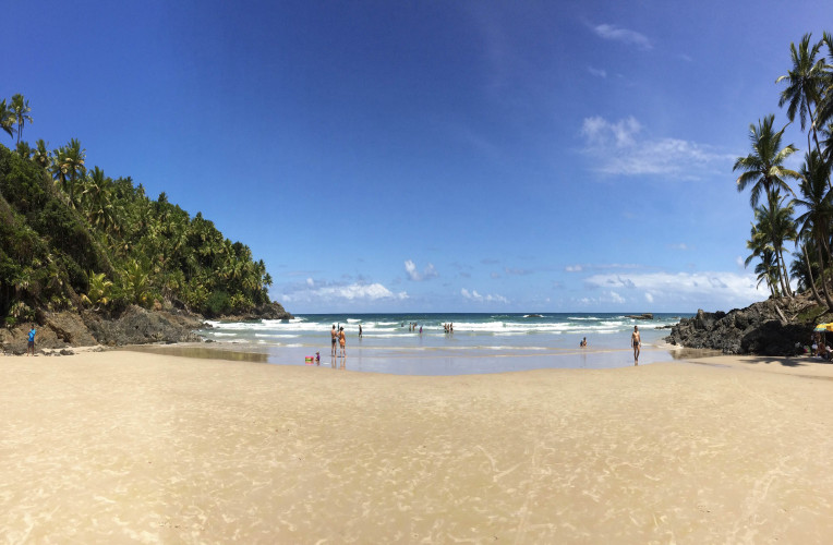O passeio das quatro praias passa por verdadeiras relíquias de Itacaré, na Bahia.