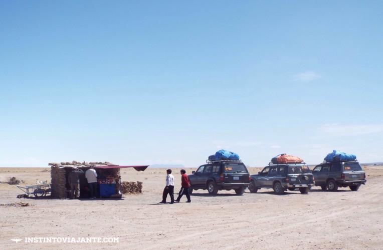 Cementerio de trenes (cemitério de trens) | Dia 1 no Deserto de Sal