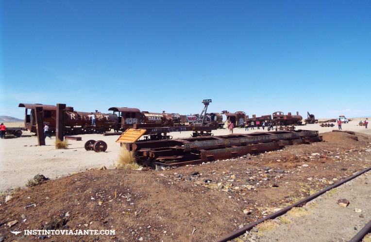 cementerio de trenes uyuni bolivia cemiterio de trens tour salar