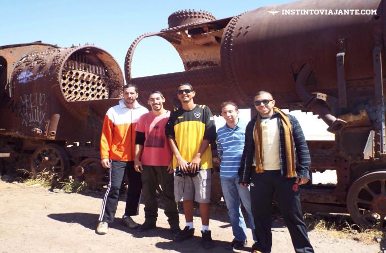 cementerio de trenes uyuni bolivia cemiterio de trens