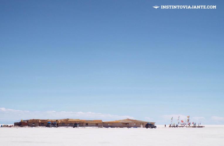 Salar de Uyuni - o hotel de sal, hoje museu | Dia 1 no Deserto de Sal