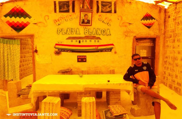 Hotel de sal Playa Blanca, hoje museu | Dia 1 no Deserto de Sal