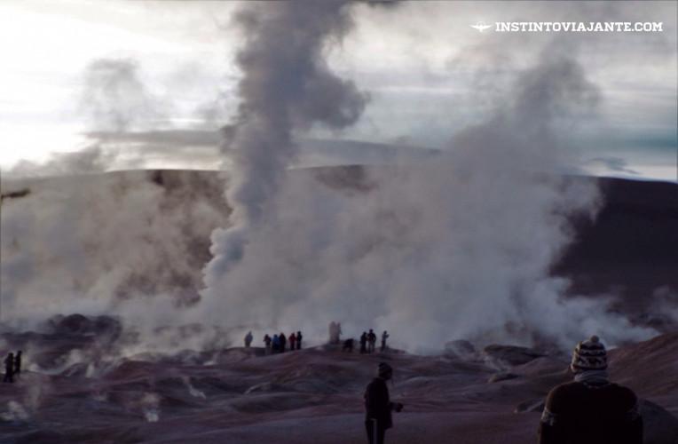 Géiser Sol de la Mañana, Uyuni, Bolívia | Dia 3 no Deserto de Sal