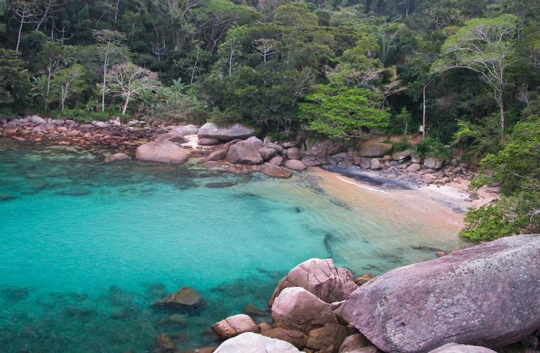 Praia do Caxadaço, Ilha Grande.