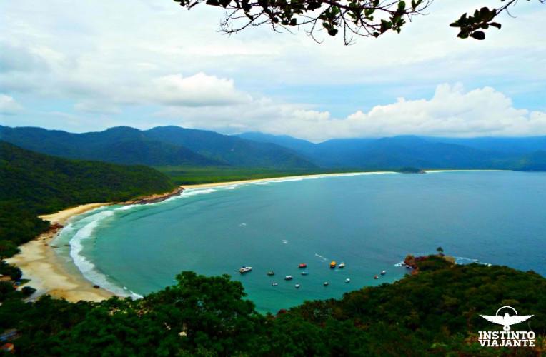 Mirante do Sundara, em Aventureiro, Ilha Grande