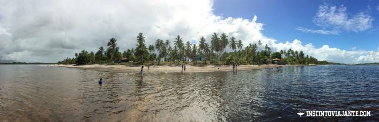lagoa do cassange peninsula de marau bahia guia de viagem