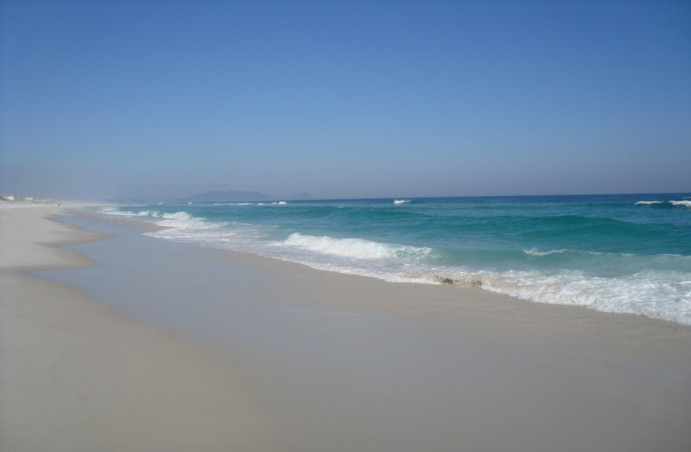 Praia de Massambaba, em Arraial do Cab