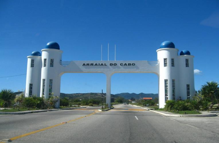 Portal da cidade de Arraial do Cabo