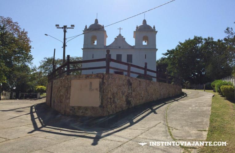Paróquia de São Sebastião de Itaipu, no caminho para a trilha das Andorinhas.