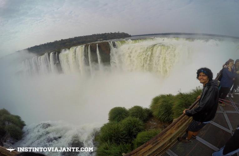 Garganta del Diablo (Garganta do Diabo) - Principal passeio das Cataratas no lado argentino (em Puerto Iguazu).