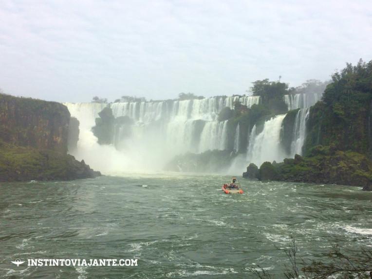 Passeio de barco nas Cataratas do Iguaçu (lado argentino) - Experiência única!