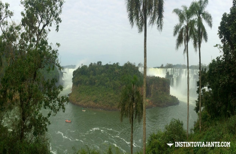 Isla San Martín, Cataratas do Iguaçu (lado argentino)