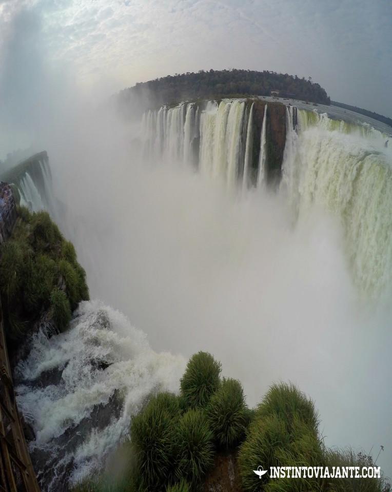 Garganta del Diablo ou Garganta do Diabo - assim como do lado brasileiro, a principal atração das Cataratas argentinas. Uma vista e sensação inesquecíveis!