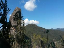 Pedra do picu, um dos melhores lugares para escalar em Minas Gerais