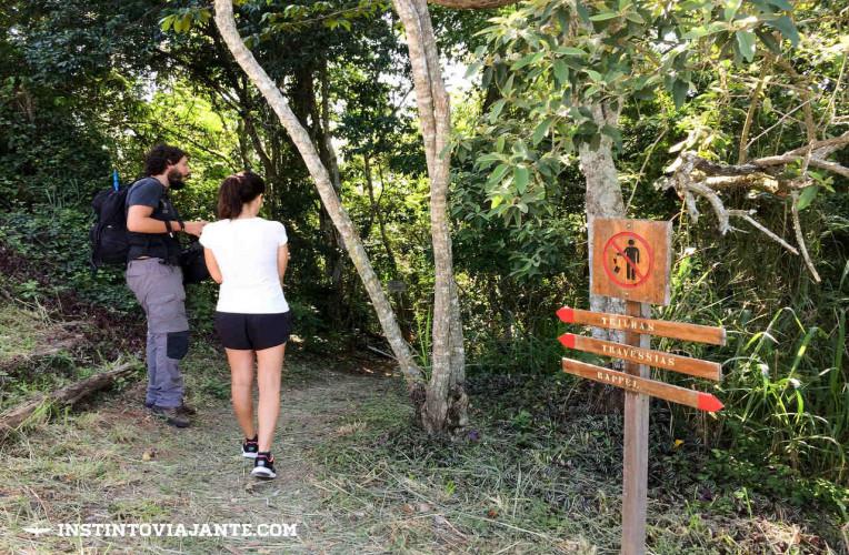Como chegar a entrada da trilha Tupinambá em Niterói-RJ