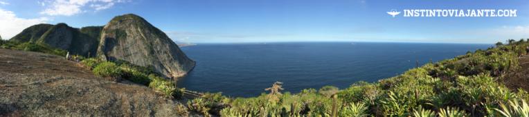 A vista principal Trilha Itacoatiara