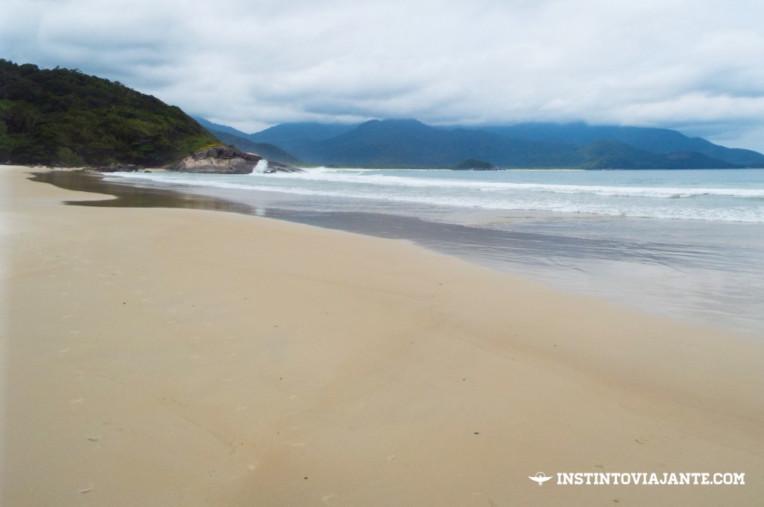 Praia do Demo, em Ilha Grande/RJ