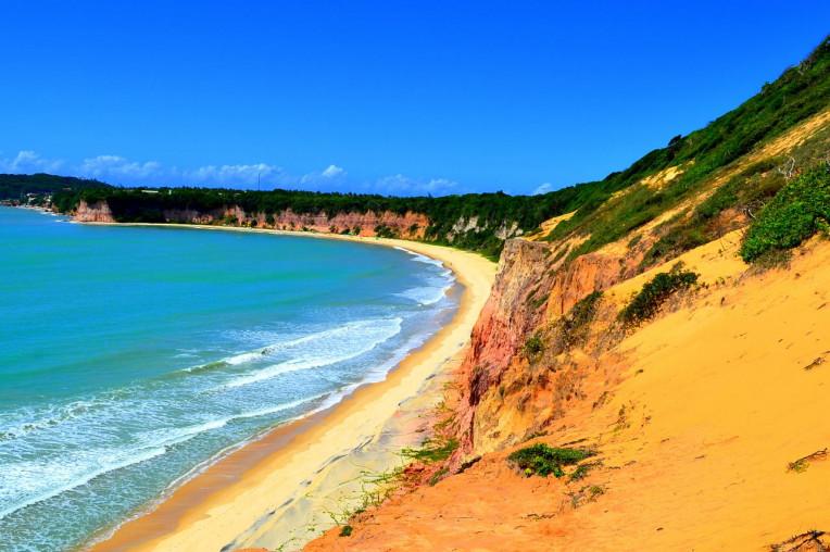 Praia de Pipa Tibau do Sul RN - Melhores praias para surfar no Brasil