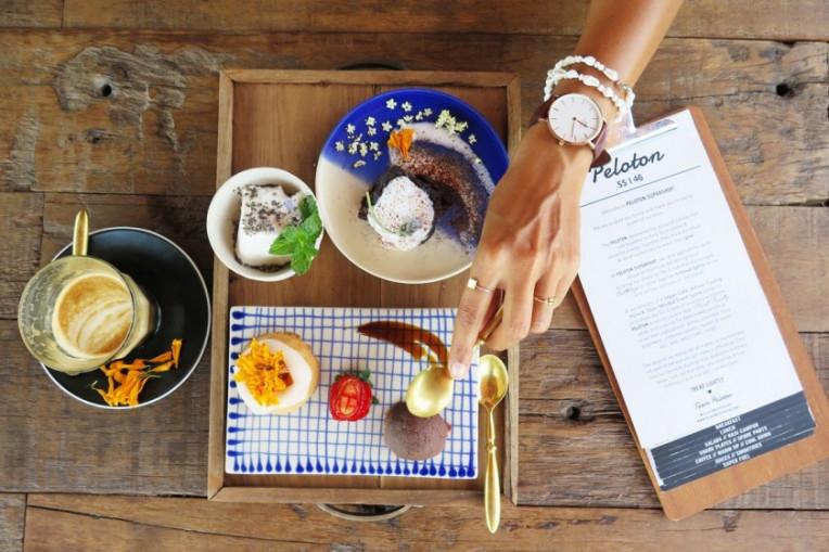 Melhores lugares vegetarianos em Bali, Indonésia, Peloton Supershop
