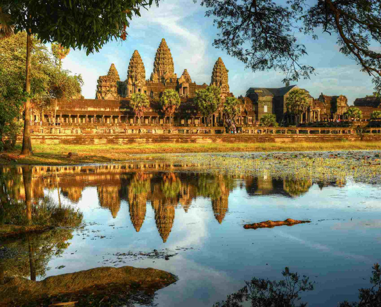 Complexo Angkor Wat, Siem Reap, Camboja