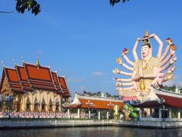 O que fazer na Tailandia Turismo Templo Wat Plai Laem