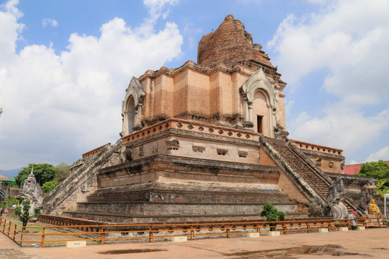 O que fazer em Chiang Mai, Tailandia - Wat Chedi Luang