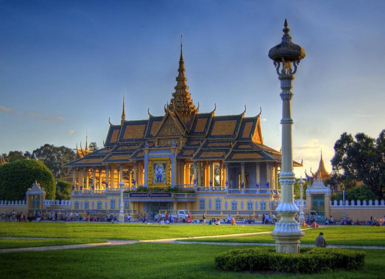 Royal Palace, Camboja - Dicas de Viagem