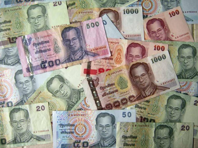 Moeda da Tailândia - Baht Tailandês ou Bate - THB