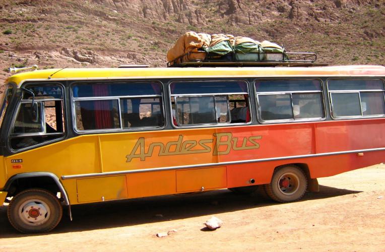 Ônibus com pouco conforto