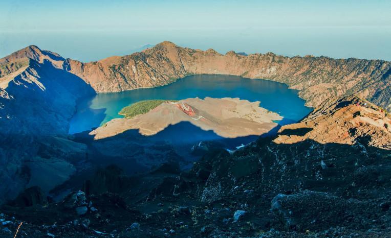 Melhores Destinos Indonésia - Vulcão Rinjani - Lombok