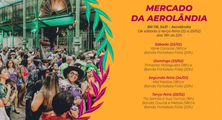 Carnaval Fortaleza 2020 Polos Blocos Shows