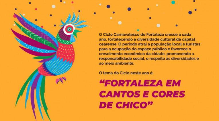 Programação Carnaval Fortaleza 2020 Ceara - Shows Blocos