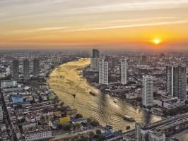 O que fazer em Bangkok - Tailandia - Sky Bar (Lebua State Tower)