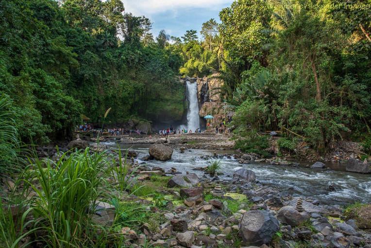 O que fazer em Bali - Indonesia - Cachoeira Tegenungan Waterfall - Ubud
