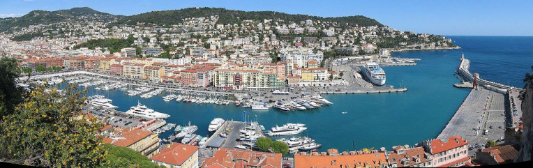 Melhores lugares para visitar na Riviera Francesa - Porto de Nice