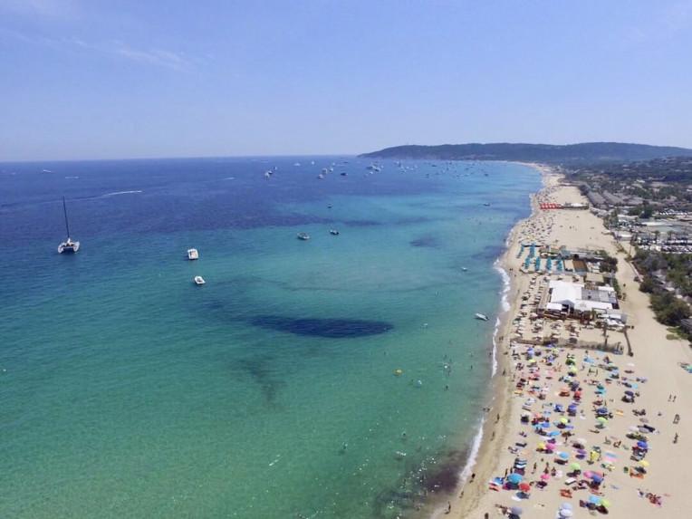 Riviera Francesa - Pampelonne Beach - St Tropez - França