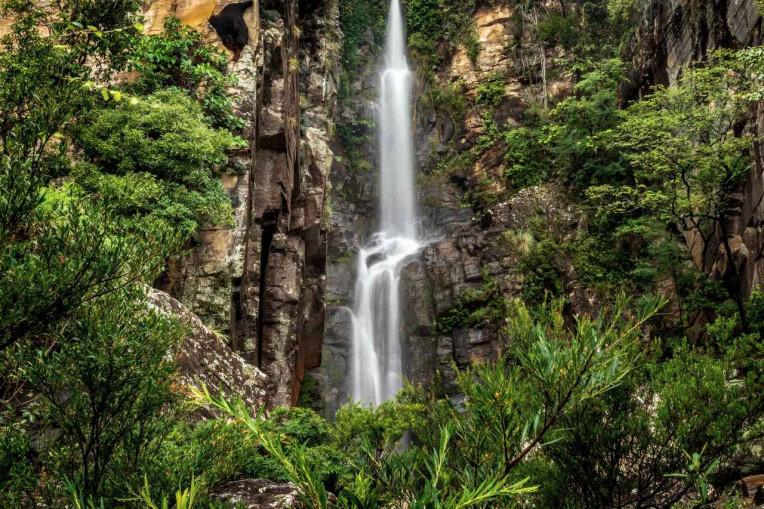 Onde Acampar em Minas Gerais - Cachoeira Véu da Noiva - Serra do Cipó-MG