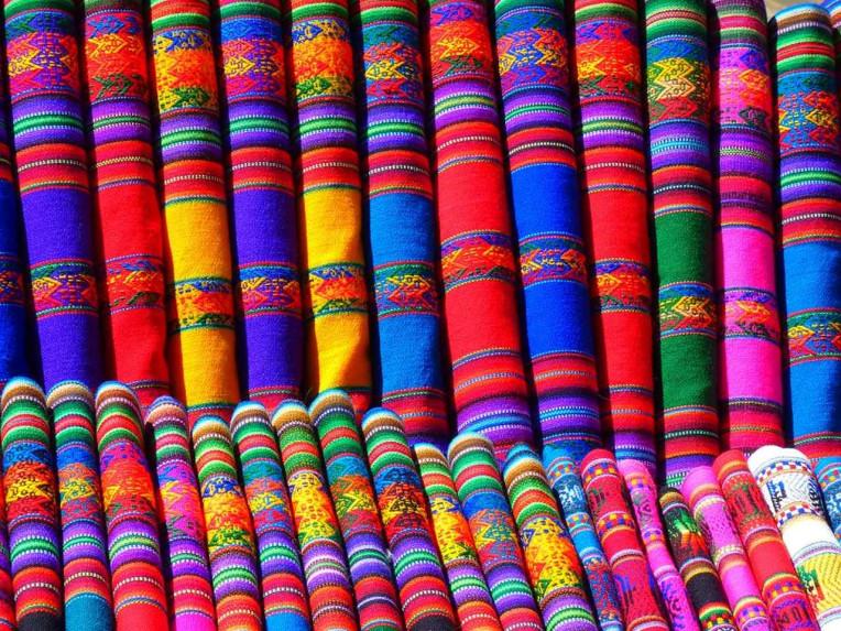 Dicas de Viagem para o Peru - cores características