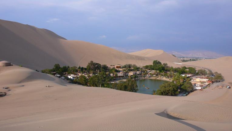 Dicas de Viagem para o Peru - Oásis de Huacachina