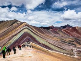Dicas de Viagem para o Peru - Montanha de Vinicunca
