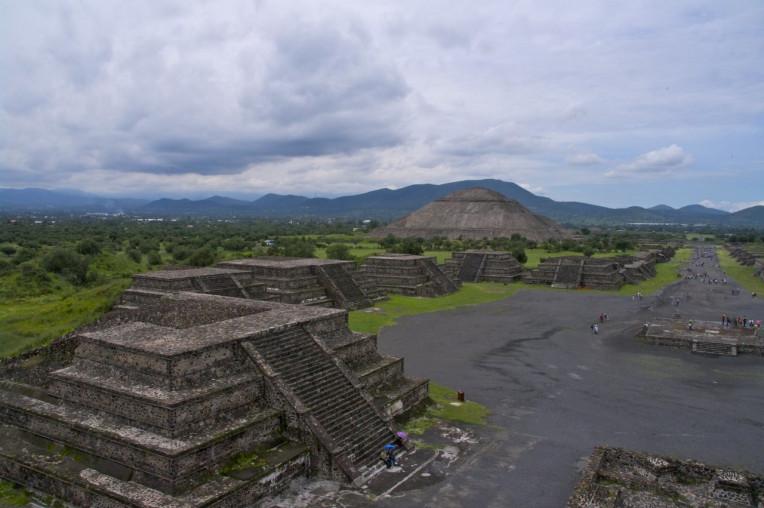 O que fazer na Cidade do México - Pirâmides de Teotihuacán