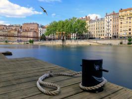 Lugares alternativos para fazer mochilao pela Europa - Lyon Franca