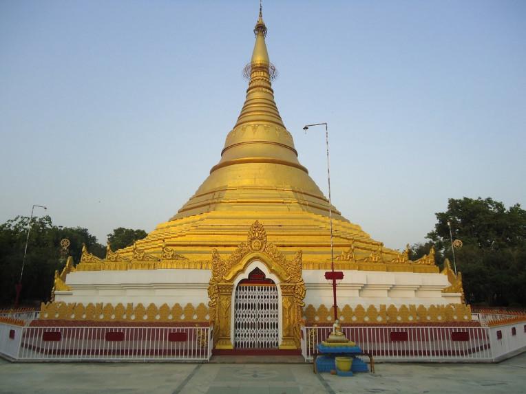 Lumbini Nepal - Cidade do Buda