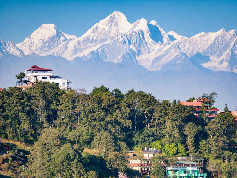 Vista Himalaia - Nepal Nagarkot