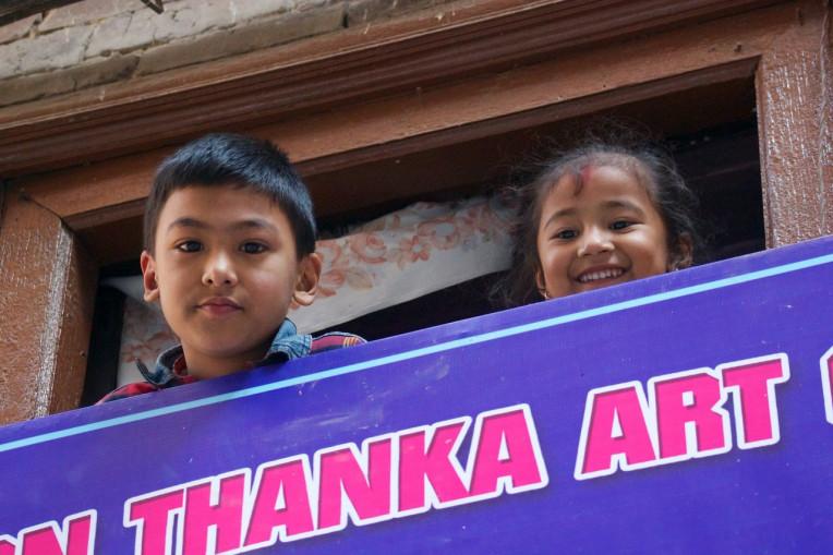 Nepal - Crianças Nepalesas