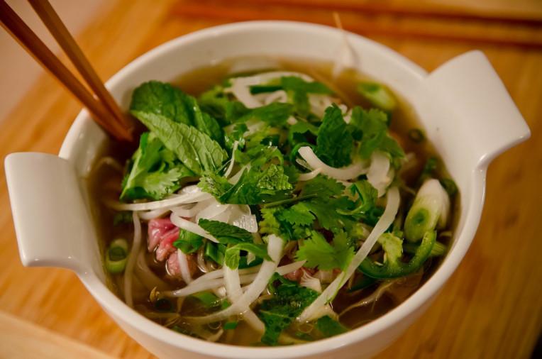 Comida Vietnamita.- Pho